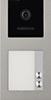 Unterputz-Türstation Silver für 1-Familienhaus BALTER EVO, 2-Draht BUS, 150° Weitwinkelkamera-EVO-1FAM