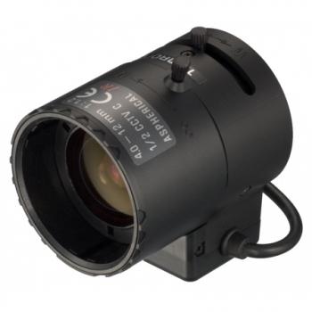 Auto Iris C-Mount Rechnung MwSt. 4-12mm Tamron Objektiv M12VG412 F//1.4