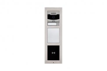2n ip videosprechanlage mit infomodul und rfid modu f r 1 familienhaus mit 2x7 innenstation is. Black Bedroom Furniture Sets. Home Design Ideas