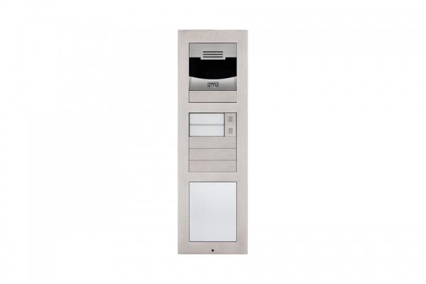 2n ip videosprechanlage mit infomodul f r 2 familienhaus mit 2x7 innenstation is 2vtn13. Black Bedroom Furniture Sets. Home Design Ideas
