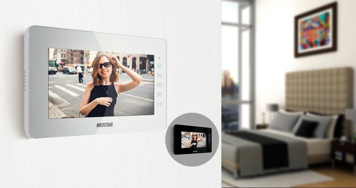 videosprechanlage f r 1 familienhaus mit 7 tft lcd online preiswert kaufen. Black Bedroom Furniture Sets. Home Design Ideas
