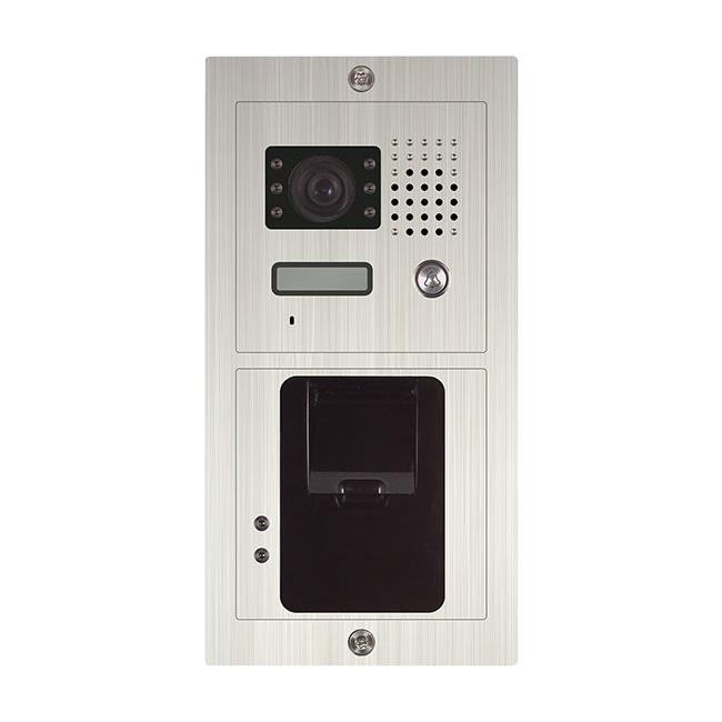 Video Sprechanlage mit Fingerprint Unter/Aufputz Türstation und 2x7 ...