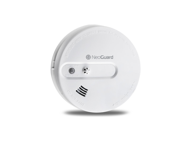 smart home system neoguard starter set one inkl 1x rauchmelder online preiswert kaufen. Black Bedroom Furniture Sets. Home Design Ideas