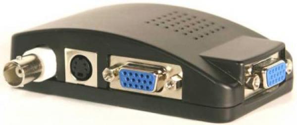 IhrSchutz24 VGA Konverter-BNC-Video zu VGA für TFT Monitore VGA Konverter-BNC-Video zu VGA für TFT Monitore