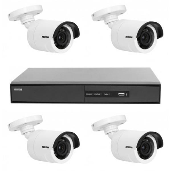 NEOSTAR Videoüberwachung System NEOSTAR Farb Überwachungskamera Videoüberwachung System NEOSTAR Farb Überwachungskamera