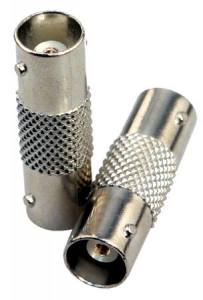 IhrSchutz24 BNC-Verbinder, BNC-Buchse auf BNC-Buchse BNC-Verbinder, BNC-Buchse auf BNC-Buchse