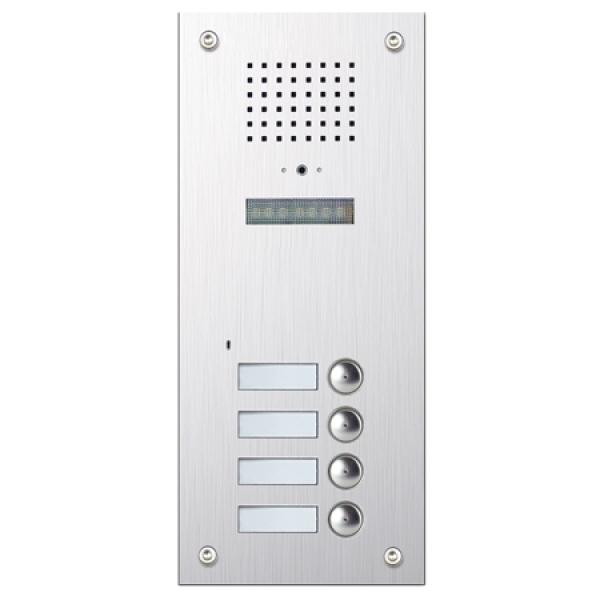 BALTER Unterputz-Türstation für 4-Famillienhaus mit versteckter Kamera-BMV-2404S Unterputz-Türstation für 4-Famillienhaus mit versteckter Kamera-BMV-2404S