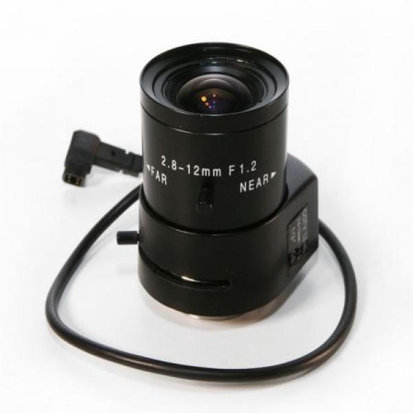 IhrSchutz24 Vario-Fokal Auto-Iris Objektiv 1/3