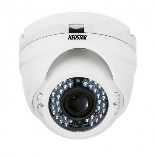 NEOSTAR IR Dome-Kamera 720TVL, 2.8~12mm Objektiv IR Dome-Kamera 720TVL, 2.8~12mm Objektiv