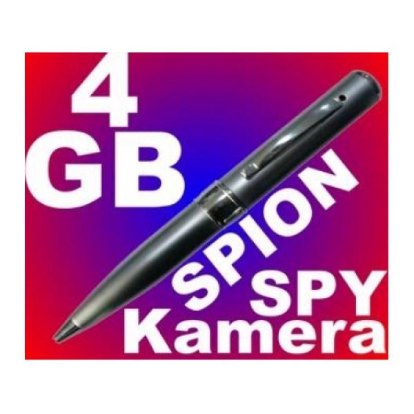 Mini Spionkamera im Kugelschreiber mit Ton 4GB