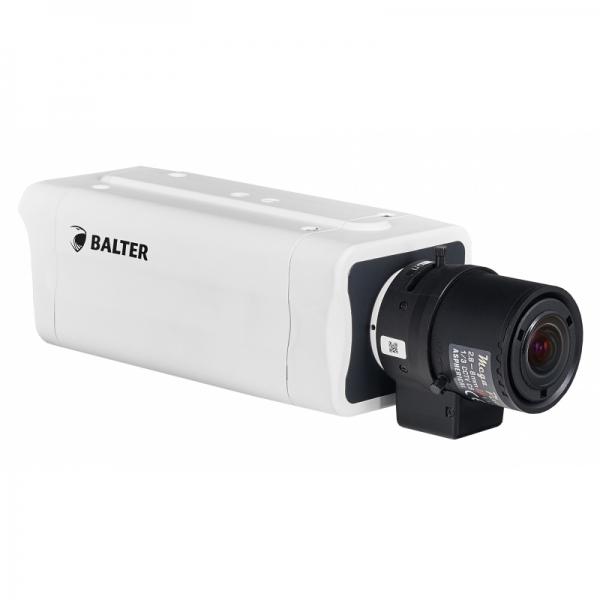 BALTER 4.0MP Box-Kamera, WDR, Videoanalyse, PoE/12V DC