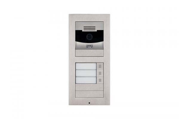 2N IP Verso Set - 3 Ruftasten, Kamera, Aufputz/Unterputz IP Verso Set - 3 Ruftasten, Kamera, Aufputz/Unterputz