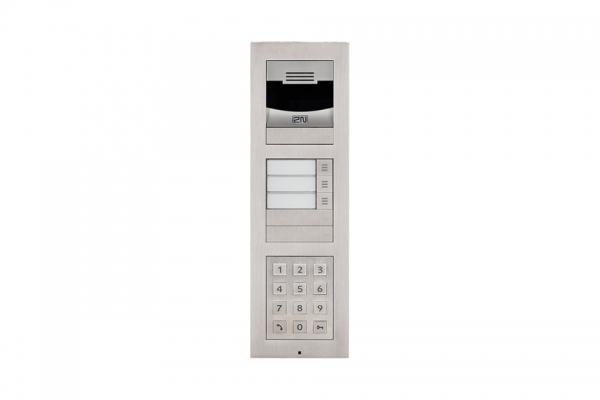 2N IP Verso Set - 3 Ruftasten, Kamera, Tastatur, Aufputz/Unterputz IP Verso Set - 3 Ruftasten, Kamera, Tastatur, Aufputz/Unterputz