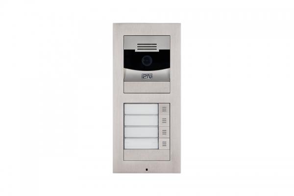 2N IP Verso Set - 4 Ruftasten, Kamera, Aufputz/Unterputz IP Verso Set - 4 Ruftasten, Kamera, Aufputz/Unterputz