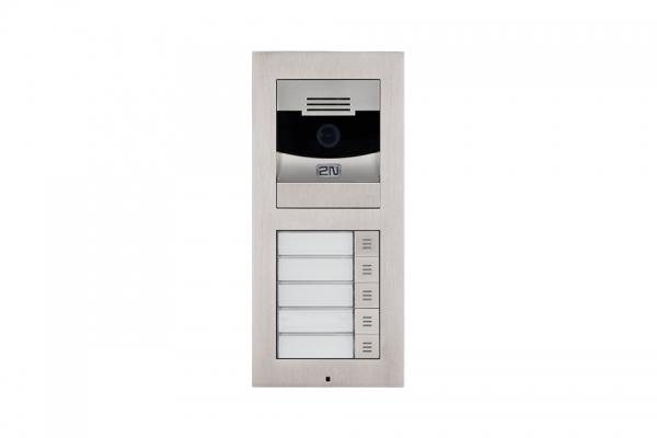 2N IP Verso Set - 5 Ruftasten, Kamera, Aufputz/Unterputz IP Verso Set - 5 Ruftasten, Kamera, Aufputz/Unterputz