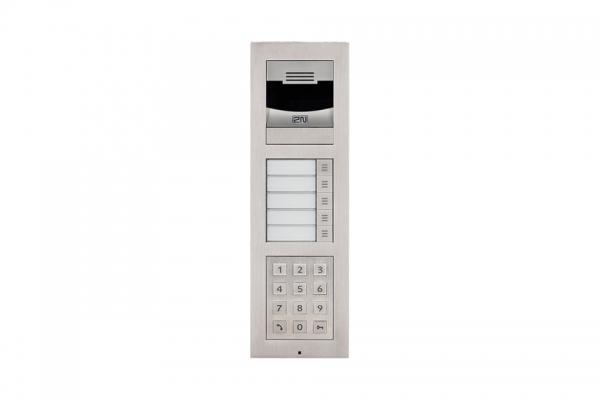 2N IP Verso Set - 5 Ruftasten, Kamera, Tastatur, Aufputz/Unterputz IP Verso Set - 5 Ruftasten, Kamera, Tastatur, Aufputz/Unterputz
