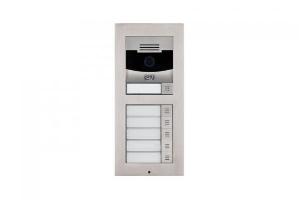 2N IP Verso Set - 6 Ruftasten, Kamera, Aufputz/Unterputz IP Verso Set - 6 Ruftasten, Kamera, Aufputz/Unterputz