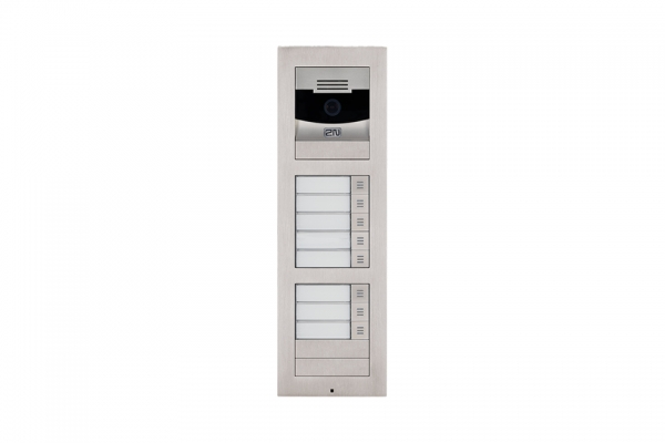 2N IP Verso Set - 8 Ruftasten, Kamera, Aufputz/Unterputz IP Verso Set - 8 Ruftasten, Kamera, Aufputz/Unterputz