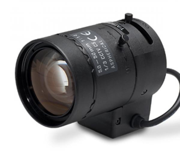 3G-Guard Variofokalobjektiv mit 5~50mm Brennweite, 1/3