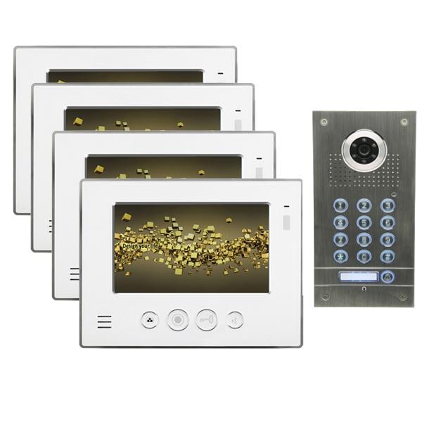 "NEOSTAR Video Gegensprechanlage für 1-Familienhaus 4x7"" TFT-LCD mit Code Funktion-IS-4E07TC Video Gegensprechanlage für 1-Familienhaus 4x7"" TFT-LCD mit Code Funktion-IS-4E07TC"