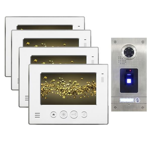 """NEOSTAR Video Gegensprechanlage für 1-Familienhaus 4x7"""" TFT-LCD mit Fingerprint-IS-4E07TF Video Gegensprechanlage für 1-Familienhaus 4x7"""" TFT-LCD mit Fingerprint-IS-4E07TF"""
