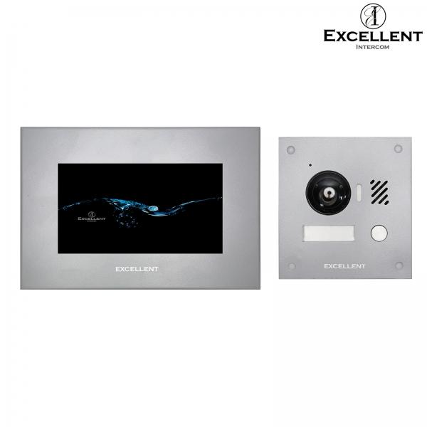 Excellent-Intercom Excellent 2 Draht Video Türsprechanlage mit HD Kamera 150° Excellent 2 Draht Video Türsprechanlage mit HD Kamera 150°