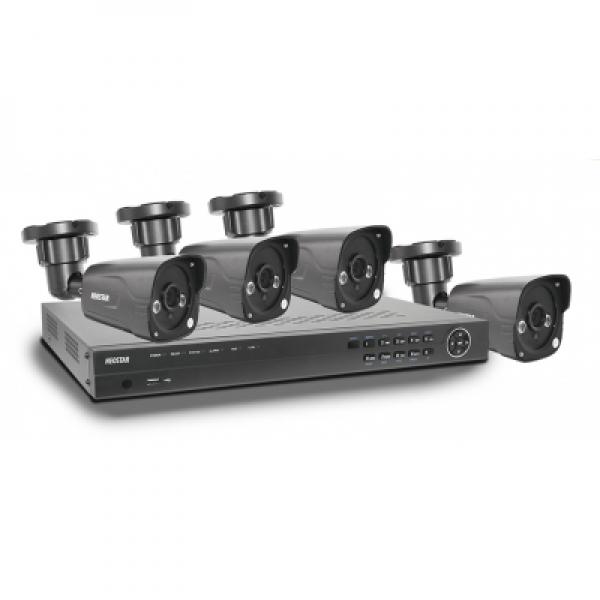 NEOSTAR Videoset 4-CH Rekorder + 4x 2.0 MP IR Außenkameras-HD-SDI-SET06