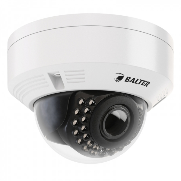 BALTER 4.0MP IR IP Dome-Kamera BALTER, 2.8-12mm, WDR, IP66 Nachtsicht 30m 4.0MP IR IP Dome-Kamera BALTER, 2.8-12mm, WDR, IP66 Nachtsicht 30m
