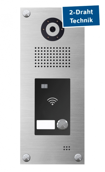 MYINTERCOM 2-Draht IP Video Gegensprechanlage mit RFID 2-Draht IP Video Gegensprechanlage mit RFID