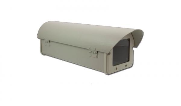 IhrSchutz24 Wetterschutzgehäuse für CCTV Überwachungskameras Wetterschutzgehäuse für CCTV Überwachungskameras