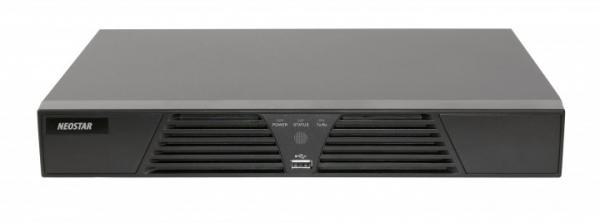 NEOSTAR 4 Kanal IP Netzwerk Rekorder NVR mit PoE, HDMI, ONVIF - NTR-410P