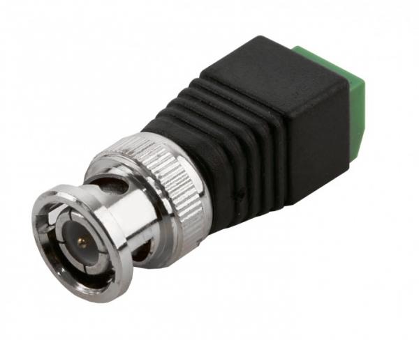 BALTER Adapter von BNC-Stecker (Koaxialkabel) auf 2-Draht-Kabel Adapter von BNC-Stecker (Koaxialkabel) auf 2-Draht-Kabel