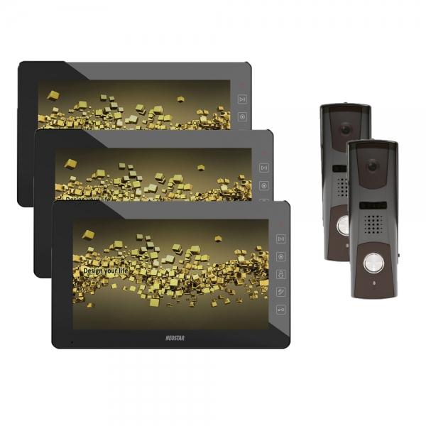 video sprechanlage f r 1 familienhaus mit 10 tft lcd online preiswert kaufen. Black Bedroom Furniture Sets. Home Design Ideas