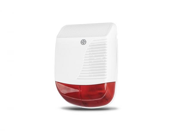 smart home system neoguard au ensirene outdoor siren online preiswert kaufen. Black Bedroom Furniture Sets. Home Design Ideas
