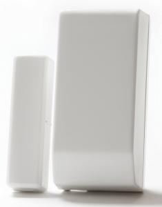 NEOSTAR PRO Funk Tür/Fenster Kontakt  Öffnungsmelder, 2-Wege, Dualzonen-OFMpro DUAL Weiß