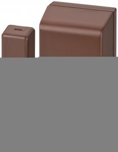 NEOSTAR PRO Funk Tür/Fenster Sensor Öffnungsmelder, 2-Wege, Dualzonen - OFMpro DUAL Braun