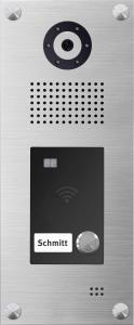 IP Video Türsprechanlage mit RFID für iPhone, iPad, Android- Smartphone, Tablet - IS-IPVTR01