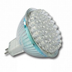 LED Lampe Leuchte Strahler MR16 3W 60 LEDs GU5.3 Warmwei� / Kaltwei� 225 Lumen - IS-LED01-60
