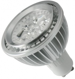 LED SMD Lampe Leuchte Strahler GU10 6,5W 230V Warmwei� 400 Lumen-IS-LED02-5x1W