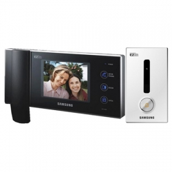 "Samsung Video Sprechanlage mit 6"" Farb LCD Monitor mit Nachtsicht Unterputz Au�enstation - SAM-20U"